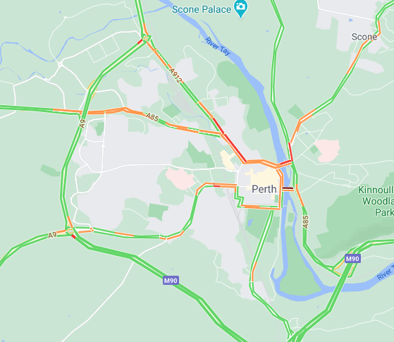 test Twitter Media - ✅CLEAR⌚️15.05  Perth area...  #A9 / #M90 no delays to report now at the Broxden or Inveralmond roundabouts.  #A90 is just a touch slow through the roadworks at Glencarse.  @NETrunkRoads @NWTrunkRoads @PerthandKinross https://t.co/ZXsAUBFoiH