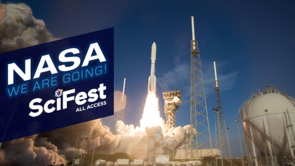 Whos up for a virtual field trip? 🎒 Come visit us at #SciFest this week for K-12 resources, speakers, career opportunities, and more! Follow @NASAExhibit for updates throughout the week. Register for @USAScienceFest here: usasciencefestival.org/scifest-all-ac…