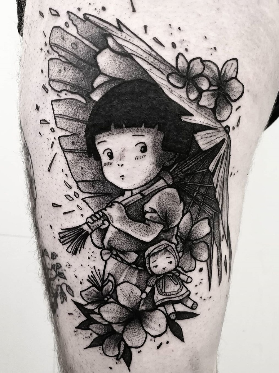 Ramon On Twitter Jean Carcass Setsuko Grave Of The Fireflies Hotaru No Haka Tattoo Ink Art