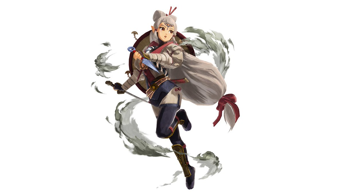 Zelda Universe On Twitter Official Artwork Of Impa From Hyrule Warriors Age Of Calamity