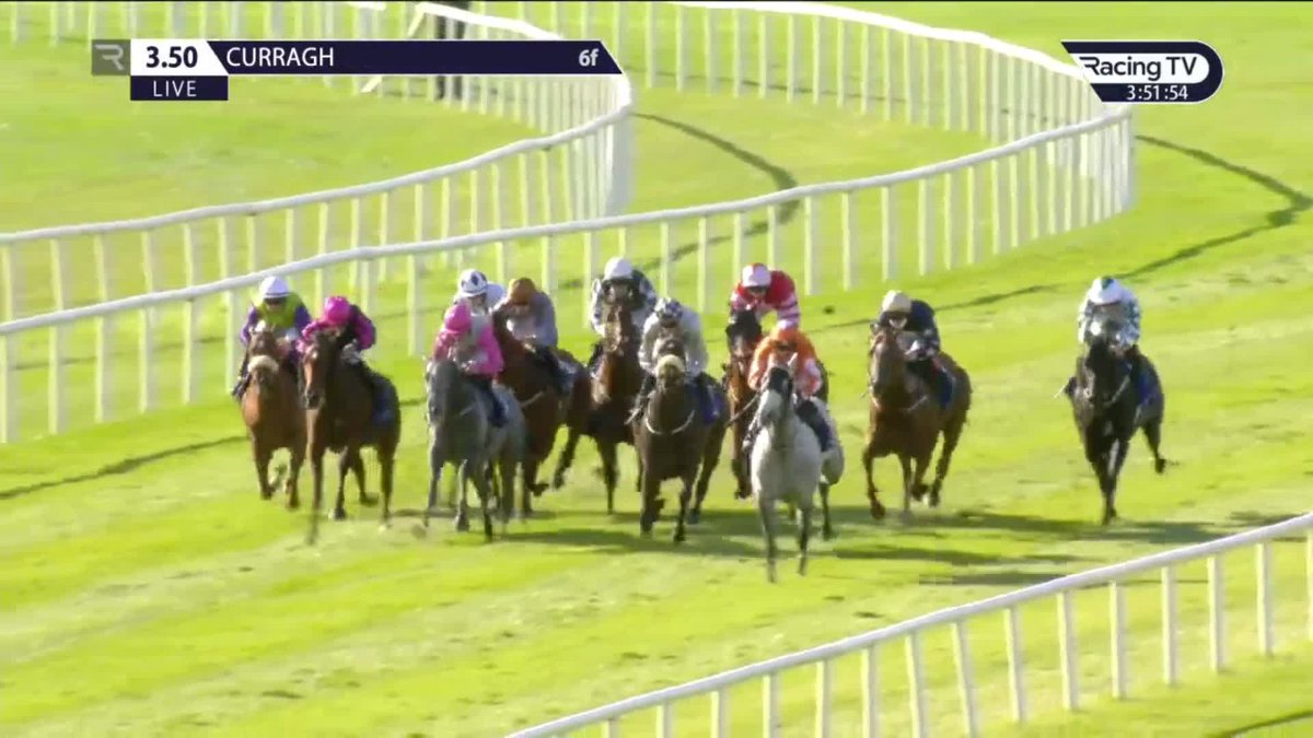 2018 #AscotYearling Sale grad Ventura Rebel wins the Gr.3 Renaissance S. @curraghrace for @RichardFahey   Purchased for £28,000 from @BearstoneStud by @fbarberini & @MprUpdates   That's 1️⃣0️⃣ black type winners and counting for the sale.  #Speed #Precocity