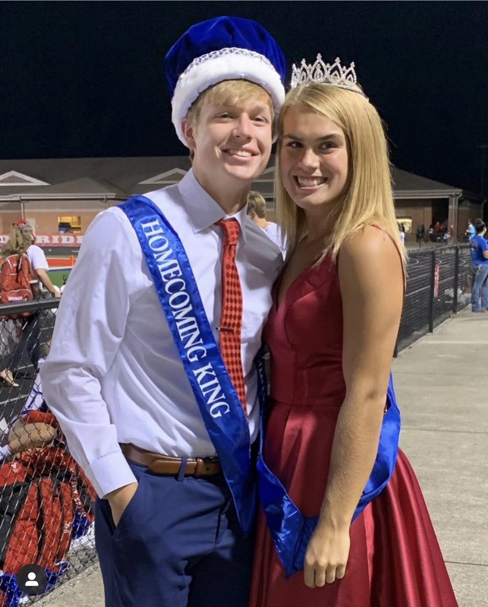 President of Unbreakable's high school powerlifting team is now also Homecoming King. John Beanz. #UAA @QuakerSports https://t.co/c9WrPFFRgu