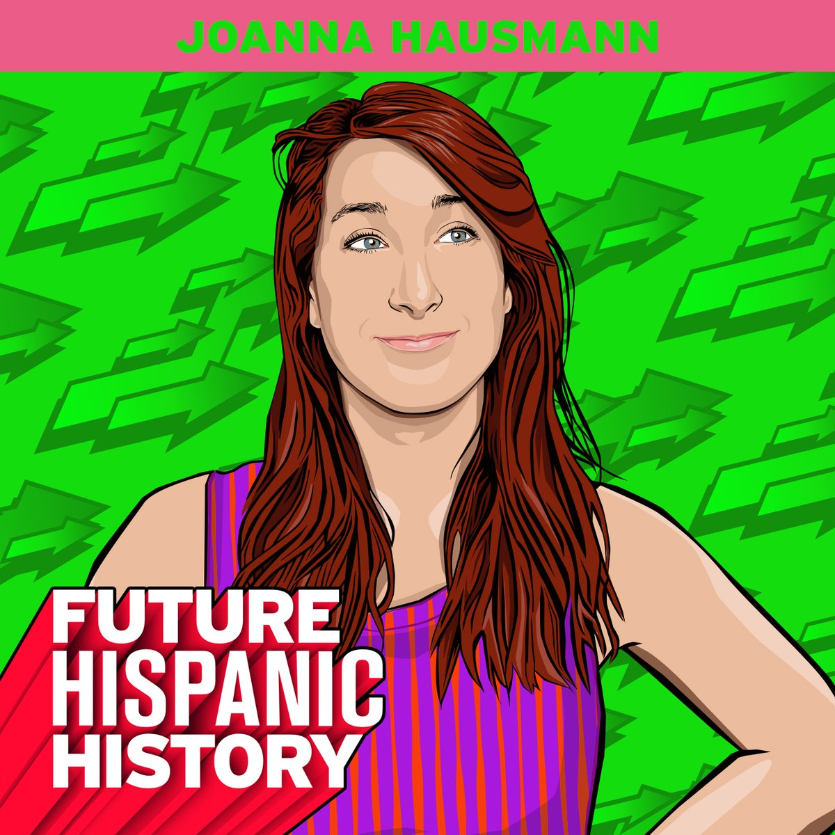 Shoutout to our #FutureHispanicHistory honoree @Joannahausmann! ✨