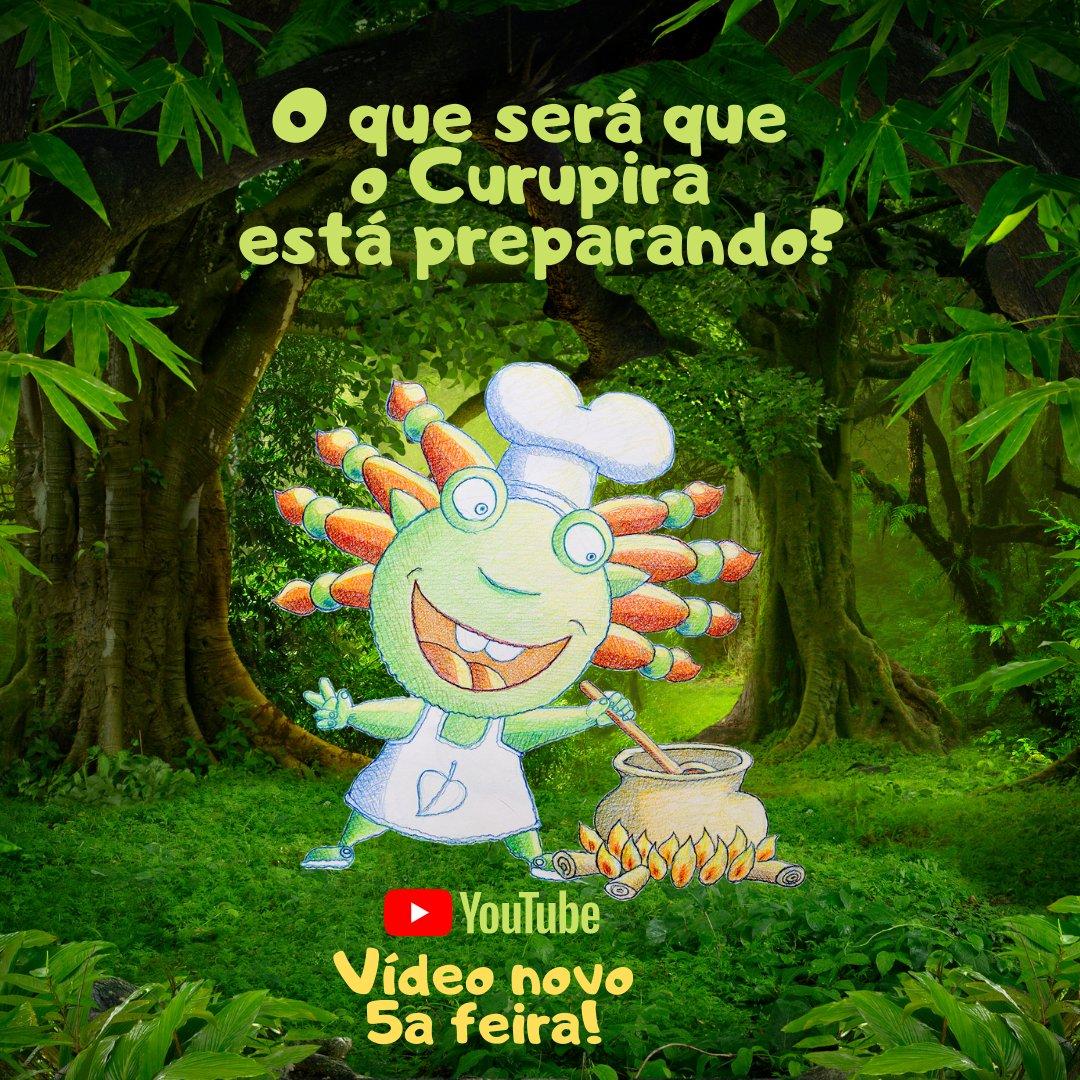 Esse #curupira está muito misterioso. O que será que ele está preparando nesse caldeirão?   Tem #vídeonovo chegando nesta quinta-feira, dia 1 de outubro às 12h (horário de Brasília)! https://t.co/xo8LKcsybV  #magia #paisefilhos #familia #crianças #criancas #infantil https://t.co/MdTPf3Ipks