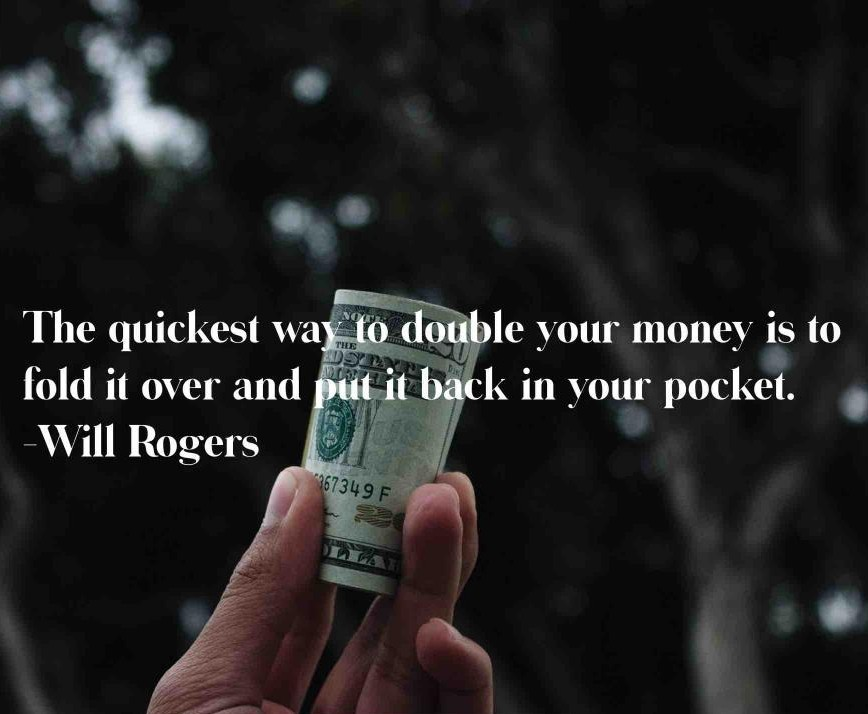 """""""The quickest way to double your money is to fold it over and put it back in your pocket."""" -Will Rogers * #entrepreneur #fund #loan #grant #houston #grantsource #inspiration #getmoneyforyourmission #grantsource #positivity #money https://t.co/YLFLJ1a623"""