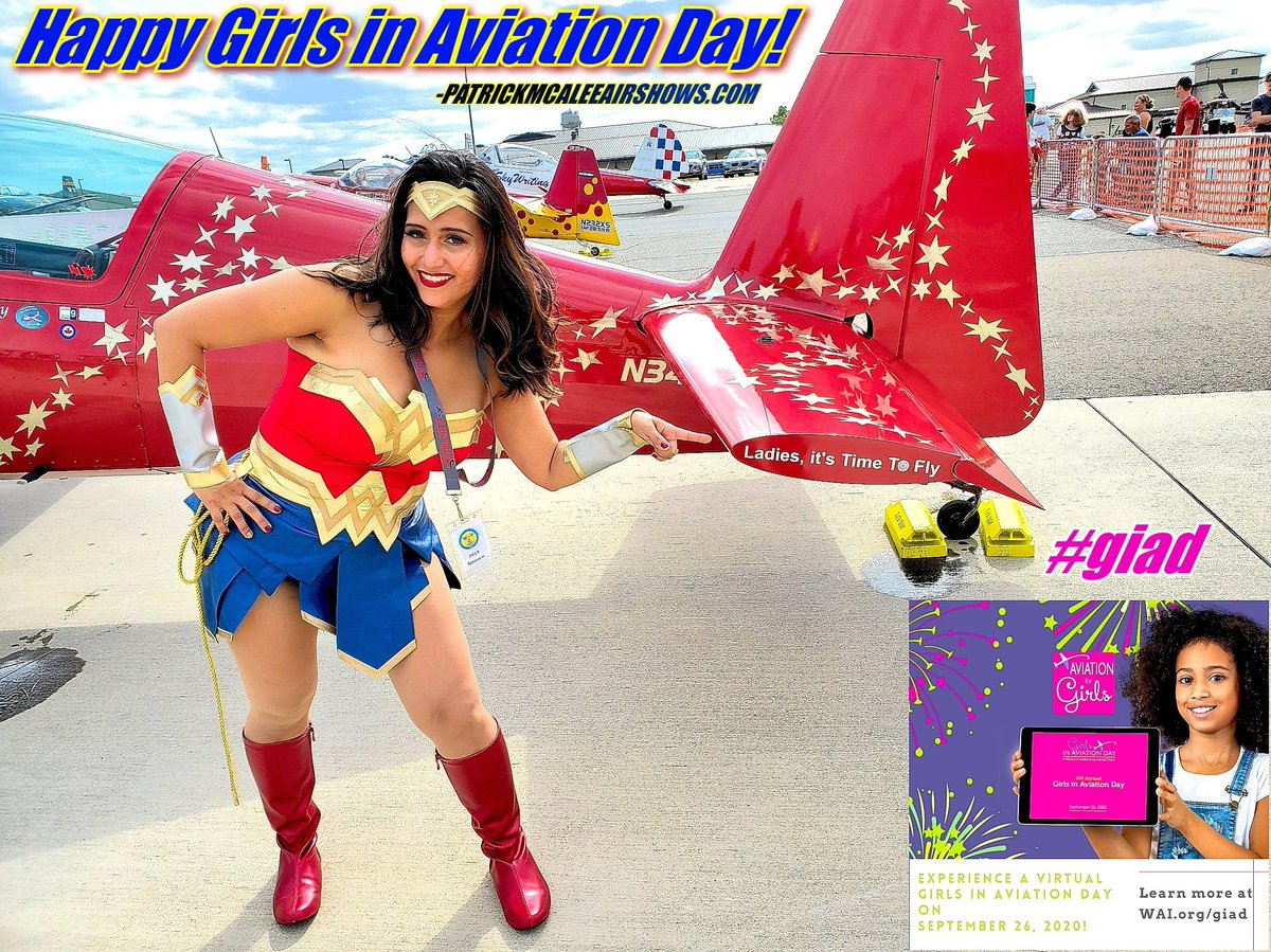Keep flying high girls and never let your wings stall! Thank you for all you do...#alwaysfly #womeninaviation #giad #airshow #airline #aviation https://t.co/P6vBsAdCJY