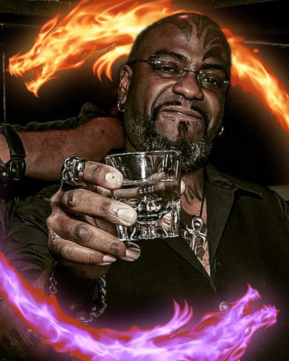 HAPPY BIRTHDAY BIG LEE! WE LOVE YOU!  And happy 5th anniversary to the bar 🖤🔥 We're open from 12 to 11 pm so come by and celebrate with us! Edit of photo by JM Draven #birthday #thehardswallow #thehardswallownyc #anniversary #party  #eastvillage #blackowned #blackownedbusiness https://t.co/HSrPnxJqpc