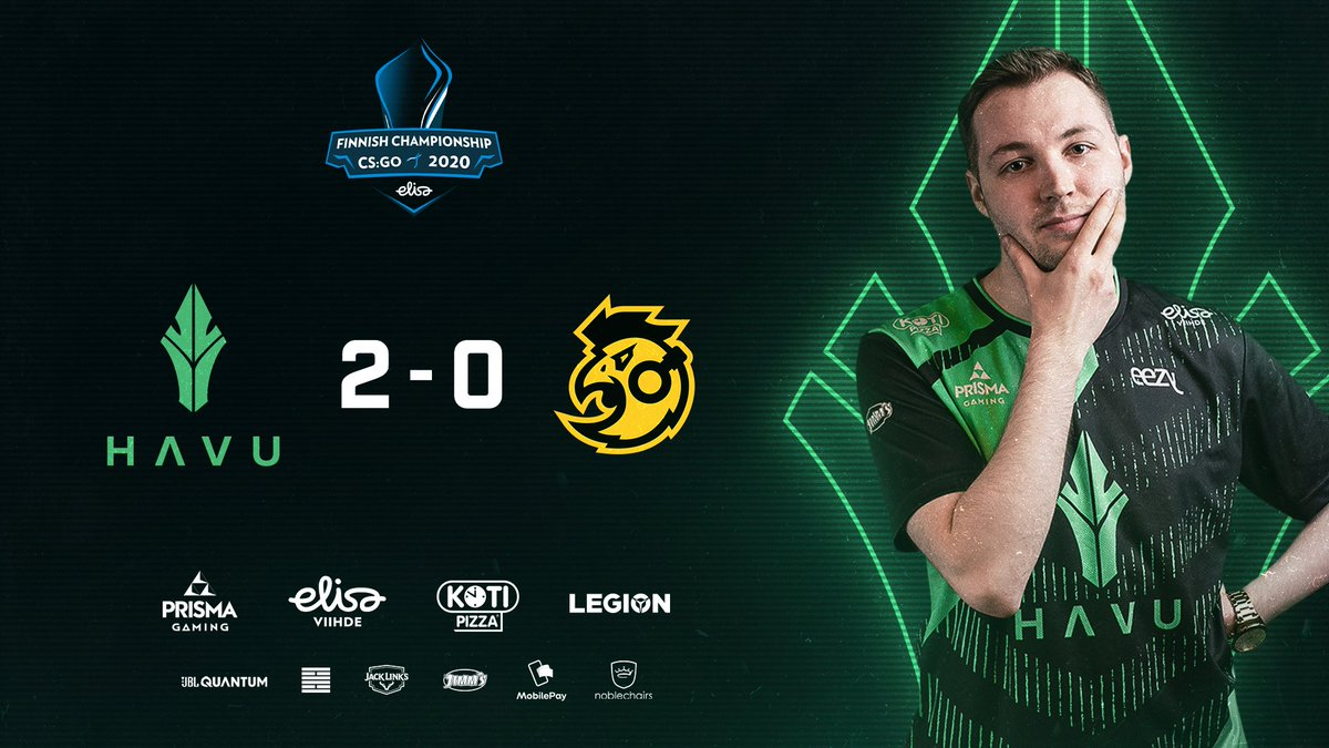 Vertigo goes in our bag 16-4 & we take the series 2-0, GGWP @sAwoesports 👊🔥  The grand final will be played tomorrow at 20:00 against the winner of @kovaesports 🆚 FcottoNd!  #HAVUJA @ElisaEsports https://t.co/d5qtoB6tdL