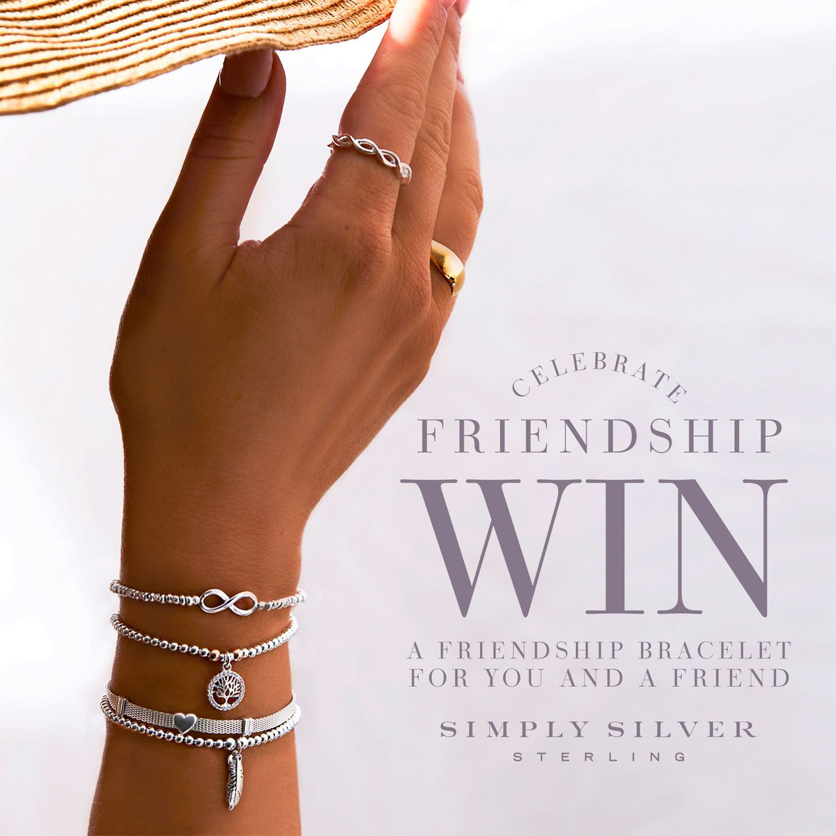 For an extra special treat for friends, send them @JonRichardJewel jewellery!  💍   To #win two of their Simply Silver special 925 sterling silver friendship bracelets, head to our Facebook: https://t.co/jY2CGIMqYH https://t.co/rs6YmBeS3v