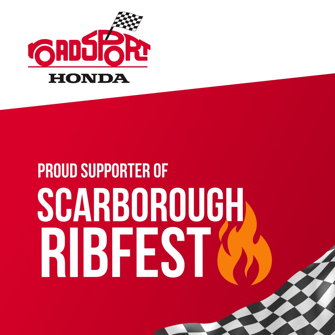 #RoadsportHonda is a proud sponsor of the Scarborough Ribfest happening today (Sept 26 and 27) at Centennial College (Progress Campus) 🔥 😋   https://t.co/UdPHHfU79y  Sales https://t.co/fMxZhEuAHx email sales@roadsporthonda.ca or call 416-291-9501  #RoadsportHonda #RibFest https://t.co/GUKi6Yccxm