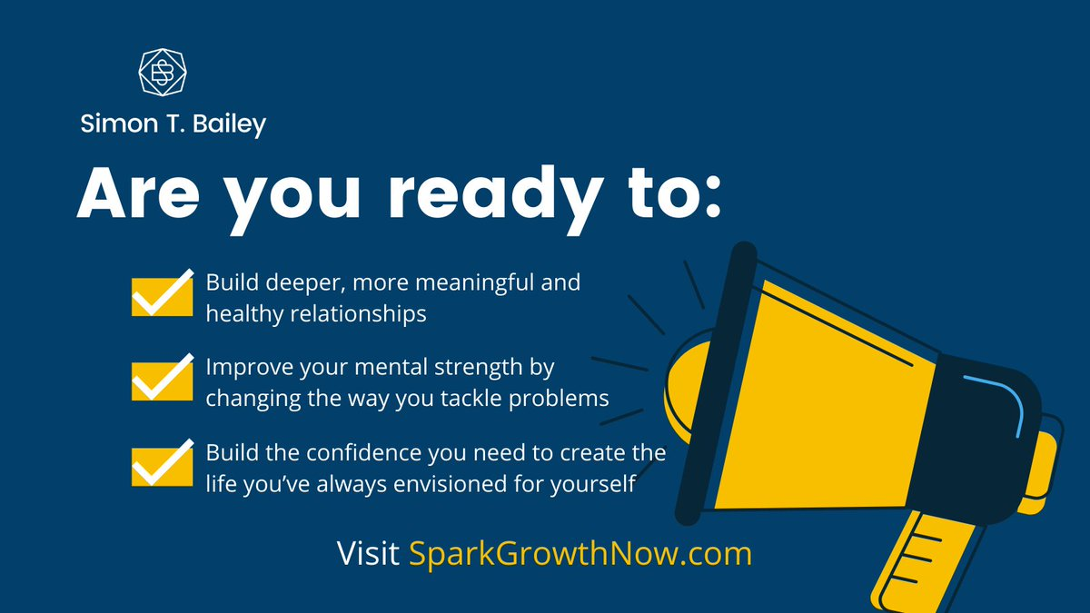 Spark Growth is a six week program to elevate your life, career and relationships. Are you ready to become the best version of yourself?@karen_m_allen and I are ready to guide your growth, visit https://t.co/HWKQmOSzOP today! #linkedinlearninginstructor #simonsays #sparkgrowthnow https://t.co/P8xocrVCAb