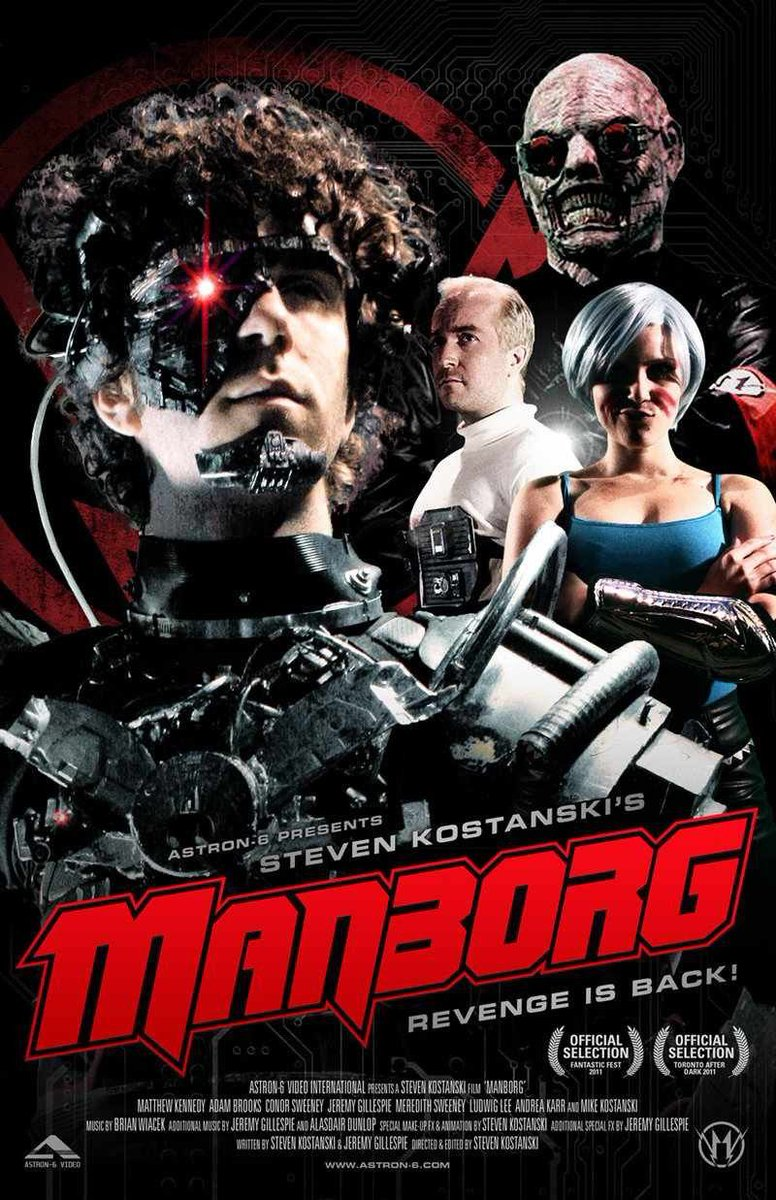 Spend today listening to us talk about Manborg, a sci-fi hot mess of ambition, effects, and divides us on whether this is a good or bad movie. Still, it's fun to watch.  https://t.co/jMJ6kwpTYG  #PodernFamily #podcast  #PodcastHQ #PodNation #bravoforthebside https://t.co/Ne6gOWYUu3