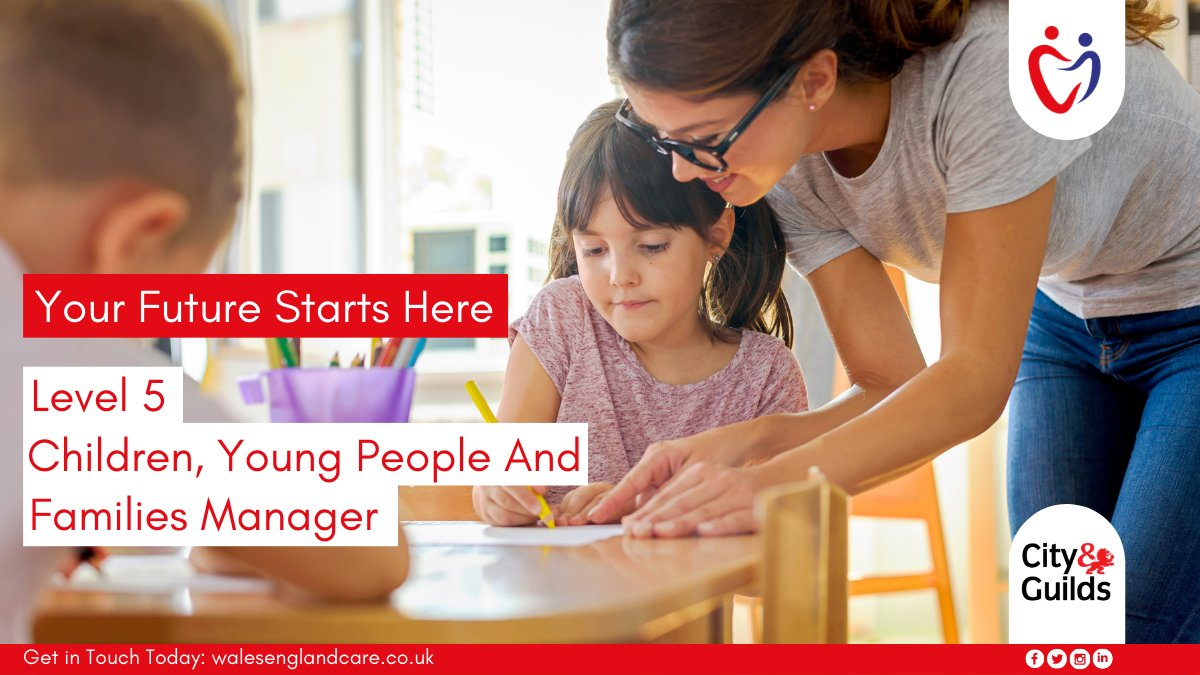 Are you looking to upskill? We offer a Level 5 in Children, Young People, and Families Manager Apprenticeship Standard which will help you towards your career goals. Contact us today: https://t.co/UW2Huh99Kz #apprenticeship #apprenticeships #upskill https://t.co/bONYPTiyTJ
