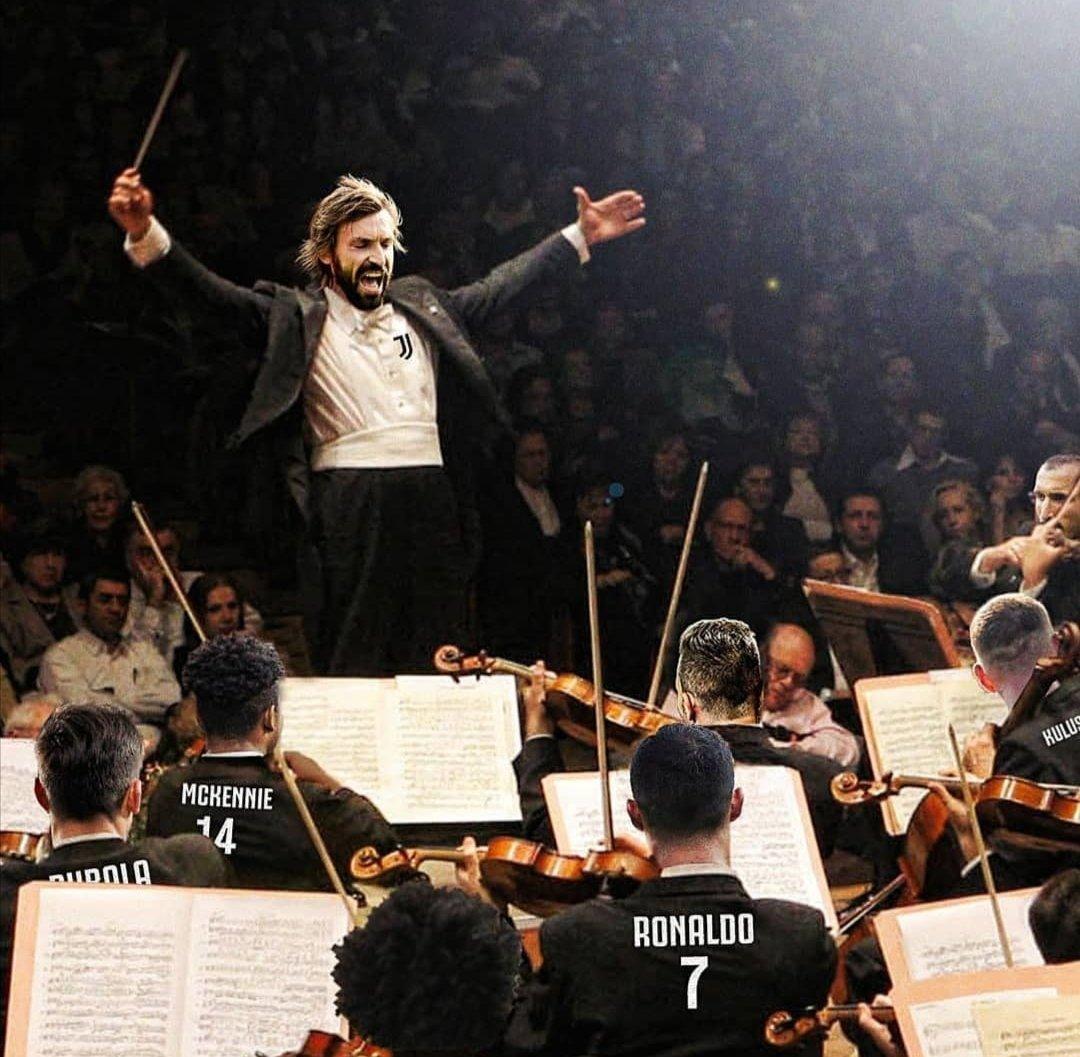 #RomaJuventus, dirige il #Maestro #AndreaPirlo #Juventus https://t.co/HHZpZ7RnqW
