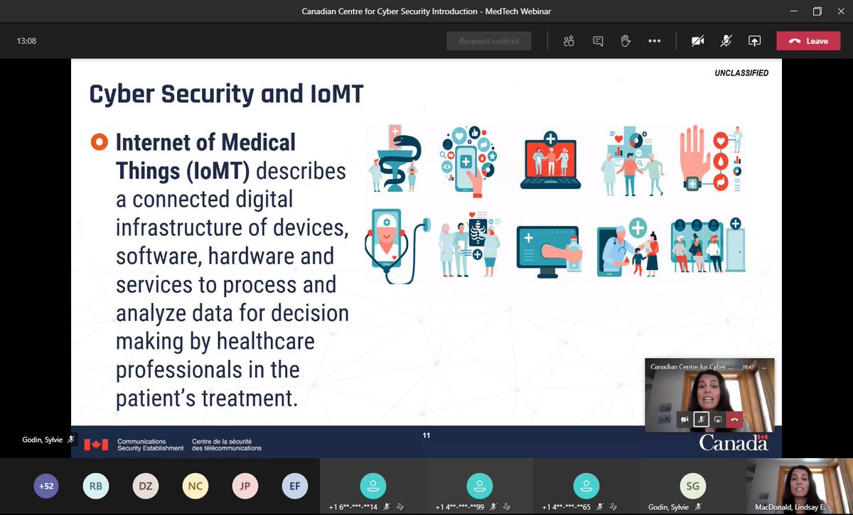 From #IoT to #IoMT, the Internet of Medical Things, encompasses broad categories including #MedicalDevice & #MedTech. Today, we know that #CyberCrime is targeting the #HealthSector as RA is pre-market, #Regulatory can add to the first line of defense. https://t.co/zhwGnUfPyX. 3/4 https://t.co/eVfOHcKYUZ