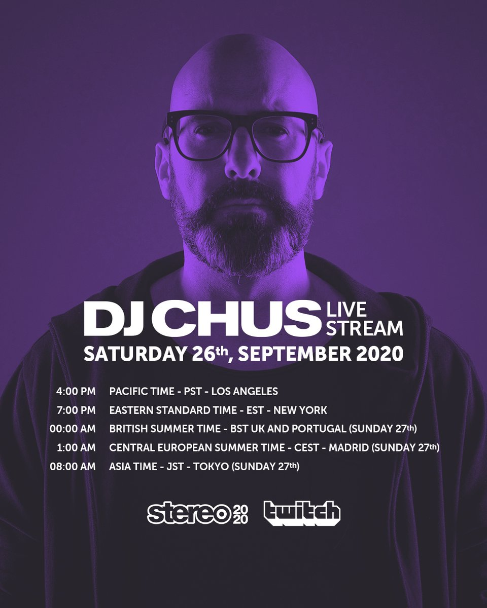 Join us tonight @Twitch with @DJCHUS in Dusty Messengers Rebroadcast https://t.co/frWpWhf4iD https://t.co/OyHqbgHEMP