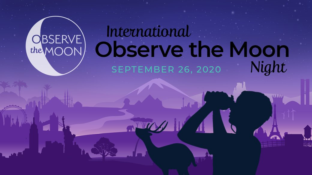 It's International #ObserveTheMoon Night!!!! What are your observing plans?   Check out https://t.co/oDe5ztixBa for activities, Moon maps, photography tips, ways to observe and more.  Plus, you can register your participation to officially join the global celebration. https://t.co/YI5h1Xc9zv