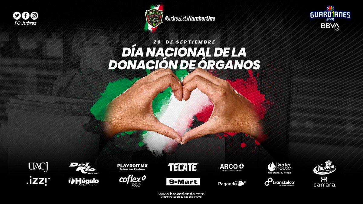 🐎💚 / 26 de Septiembre, Día Nacional de la Donación de Órganos.  #JuárezEsElNumberOne https://t.co/yioQ19ZYGJ