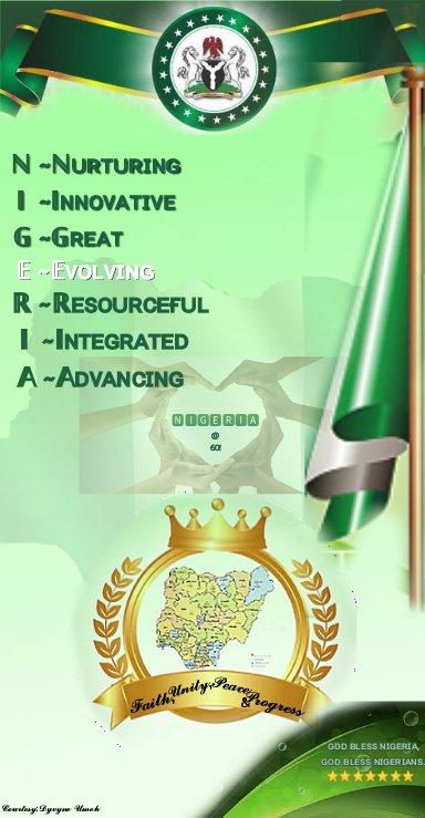 Count down to Oct 1st ,2020 . Nigeria@60👍🙏... #Nigeria #youths #socialmedia #Patriotism #Anniversary #positivity #politicalparties #nigerians #africanunion #unityindiversity #presidency #pdp #apc #apga #stategovernment #governors #nigeriasindependenceday #love https://t.co/B7DxeK9upM