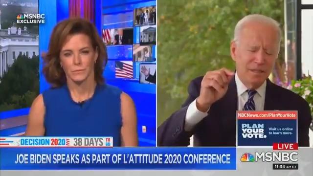 ジョー・バイデン氏脳が凍ったのか?フリーズするバイデン氏MSNBCアンカーはバイデン氏のインタビューを呆れて自ら切る🤣🤣🤣