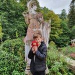 Image for the Tweet beginning: Visited @VindolandaTrust today! Inspired by