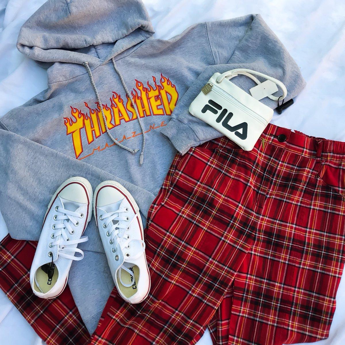 🔥  Thrasher Sweatshirt S $14  Urban Outfitters Pants S $14  Converse Womens Sneakers Size 6.5 $22 Fila Wallet $8   #platosclosettemecula #platosclosetstyle #thrasher #urbanoutfitters #ou #converse #fila #womensfashion #fallfashion #fallstyles #temecula #murrieta #lakeelsinore https://t.co/IotwQJ47ku