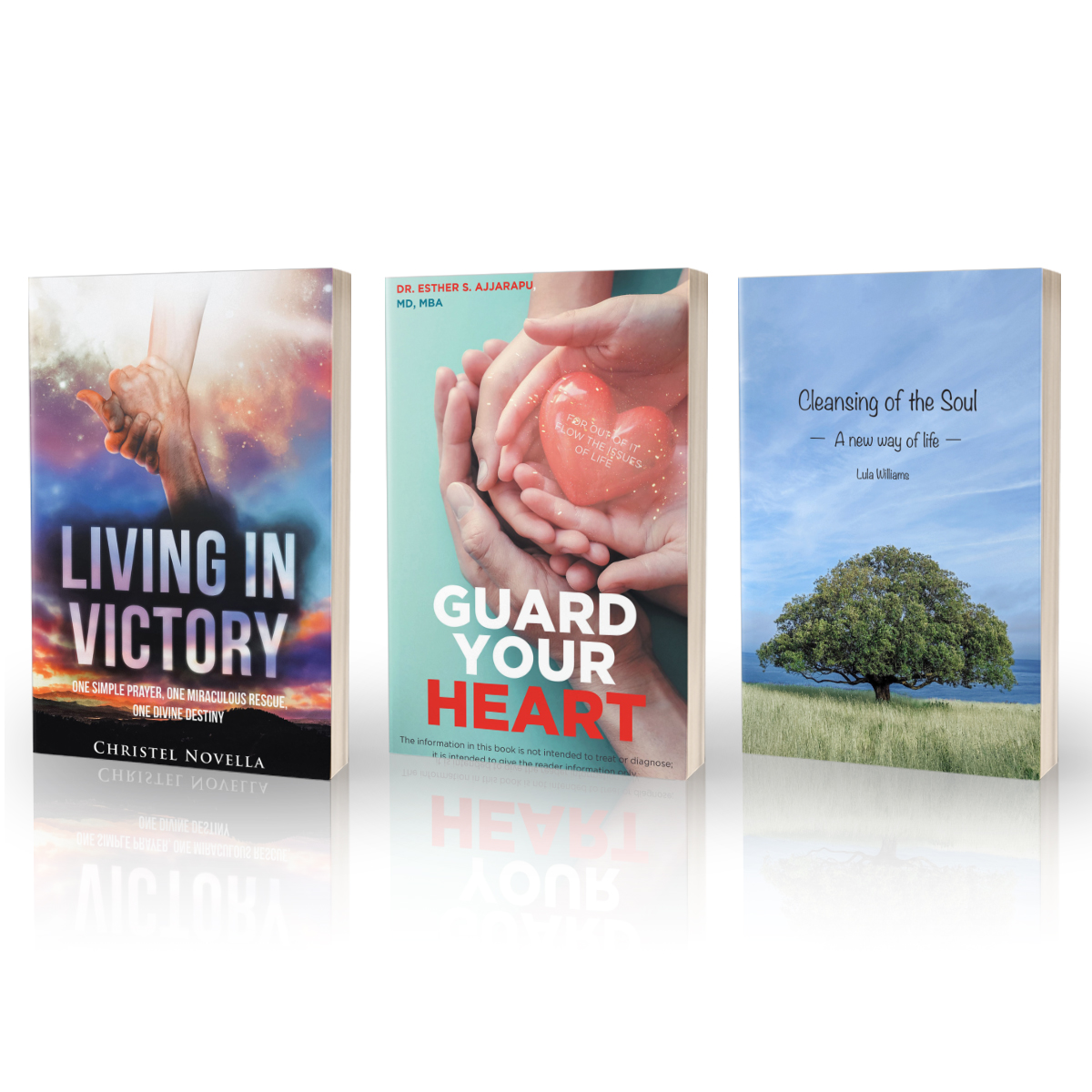 NEW BOOKS THIS WEEK!!  Lula Williams: https://t.co/VJBgREDKFj  Esther S Ajjarapu: https://t.co/L1UsbnKstl Christel Novella: https://t.co/iFKAiaVvk3  ---Have you ever dreamed of being an author? @TBN & @trilogybooks want to help! go to https://t.co/9T1CMaBcLV to find out how! https://t.co/nR0uZ09dSY