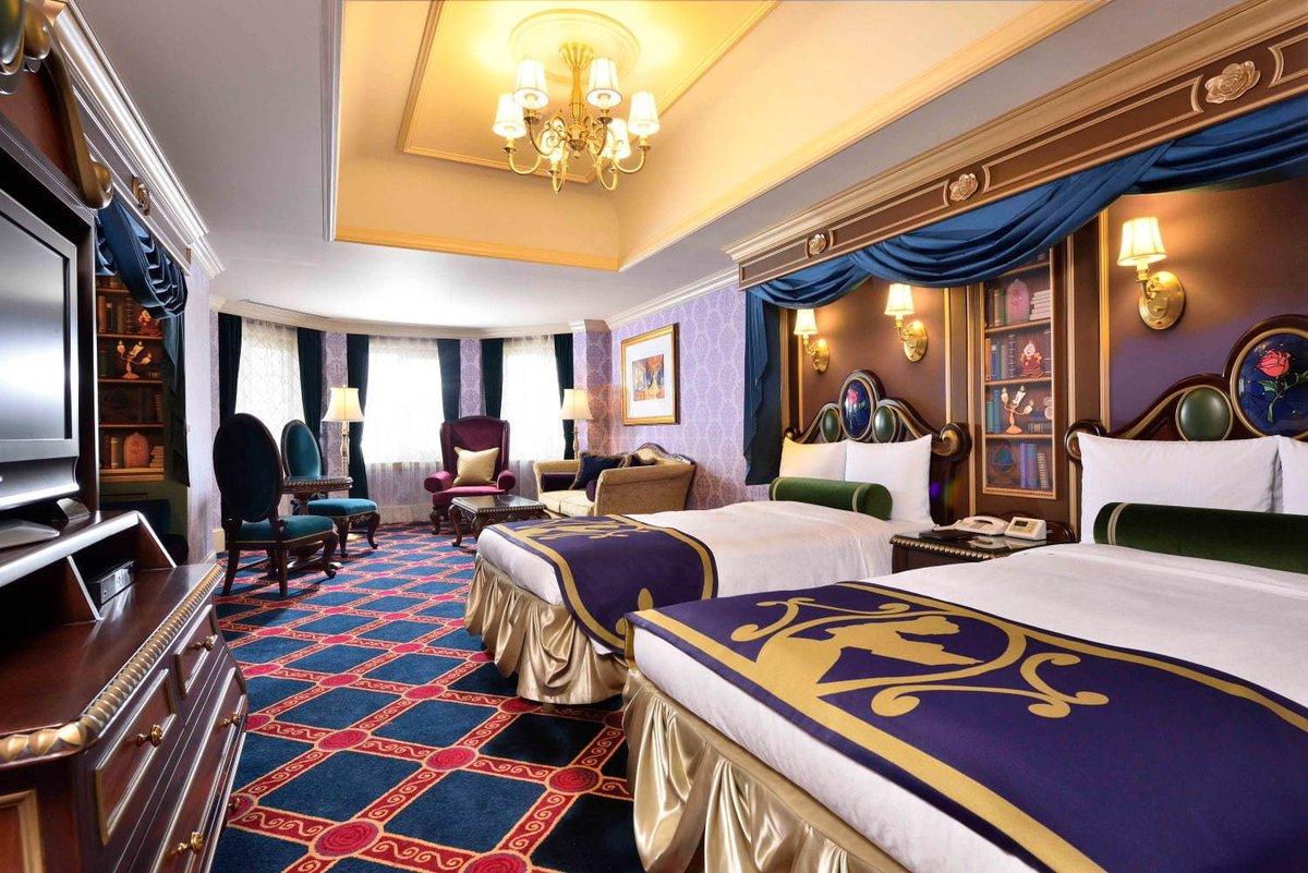 [明日オープン] 東京ディズニーランドホテルに特別な宿泊プログラム、『美女と野獣』のキャラクタールームも -