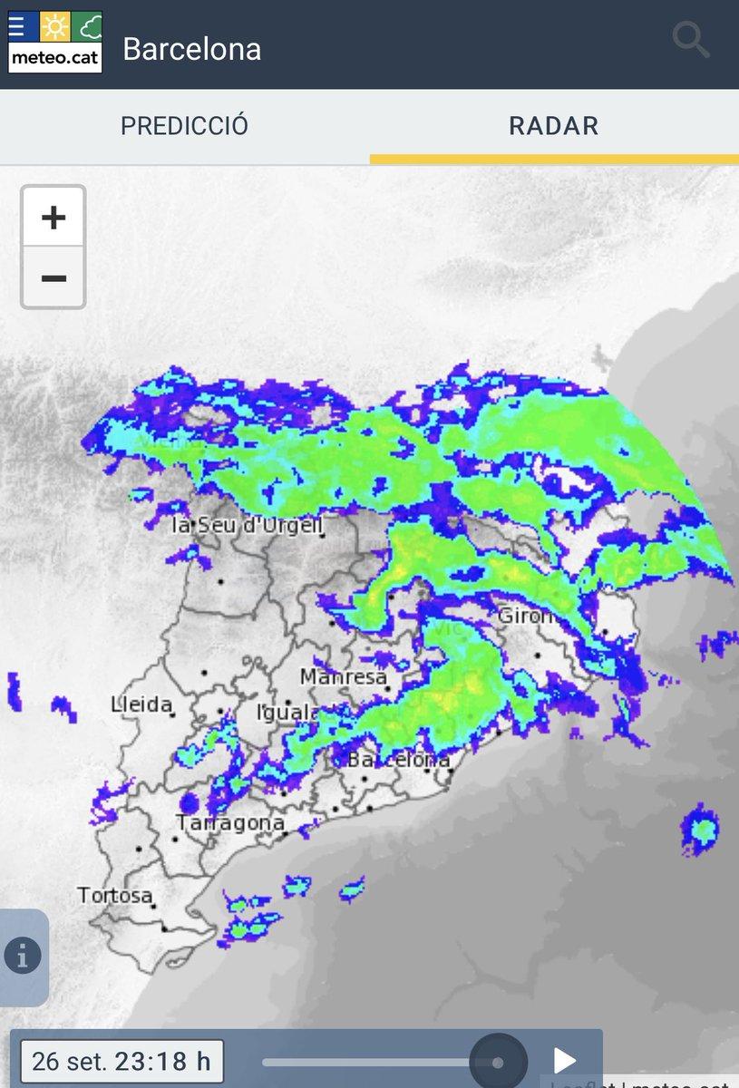 Molta més precipitació de la modelitzada #meteo #324eltemps https://t.co/PA2FW2Jg4O