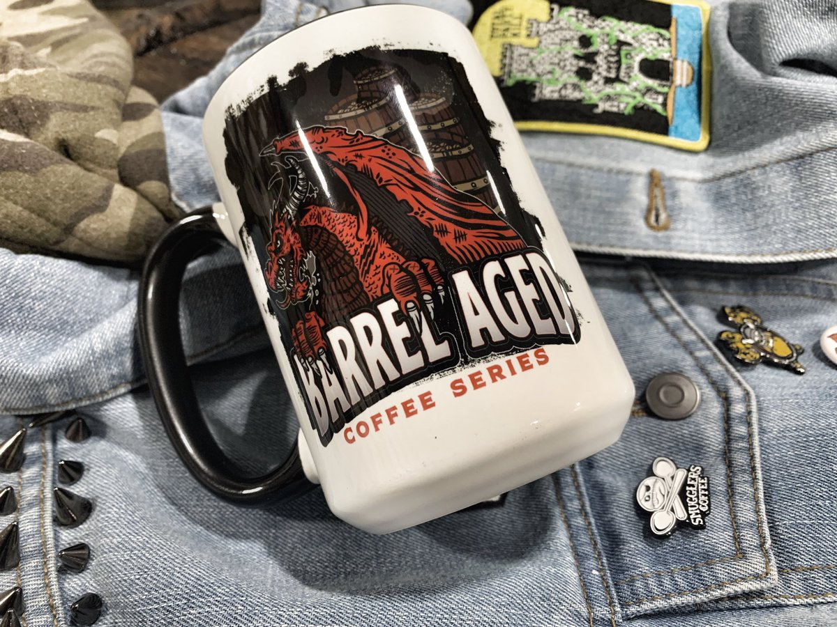 Walk among the Warrior Tribe of Caffiends and drink awesome coffee while crushing skulls 🤘 https://t.co/ajgvnqwoS4