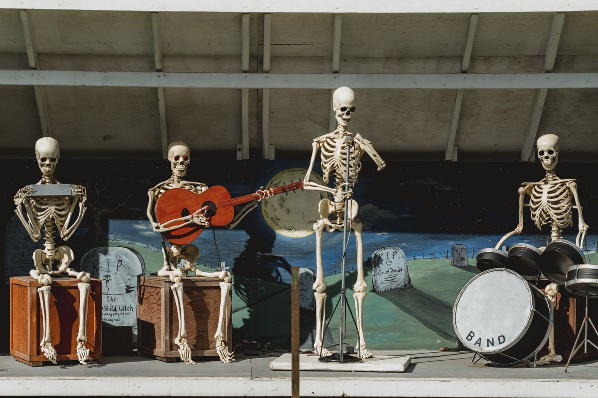 It's That #Spooky #Season Again!  Join us for a #Bone Chilling Good Deal! #Twitter #YouTube #InstaGram #SoundCloud #Zoom #Saturday #Fall #Motivation #Halloween #Band & #Orchestra #Home #Skeleton #Crew   https://t.co/ASrZ0Bxzwu https://t.co/Y3K1FM2vJ9