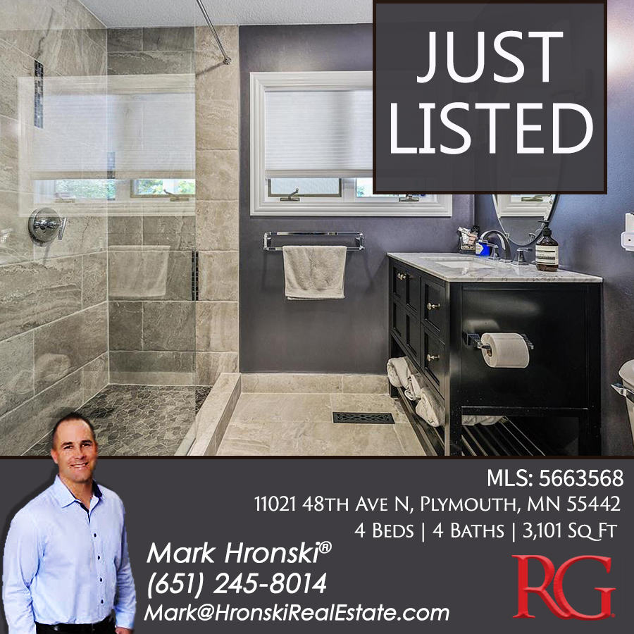 Congratulations Mark on your New Listing! This property is now ACTIVE on the MLS! Reach out to Mark for more information or a private showing!  #Congratulations #JustListedMN #RealtyGroupMN #HronksiRealEstate #IntegrityConcierge #RealEstateSupport #RealEstateMN #PlymouthMN https://t.co/rM2gyA8VfF