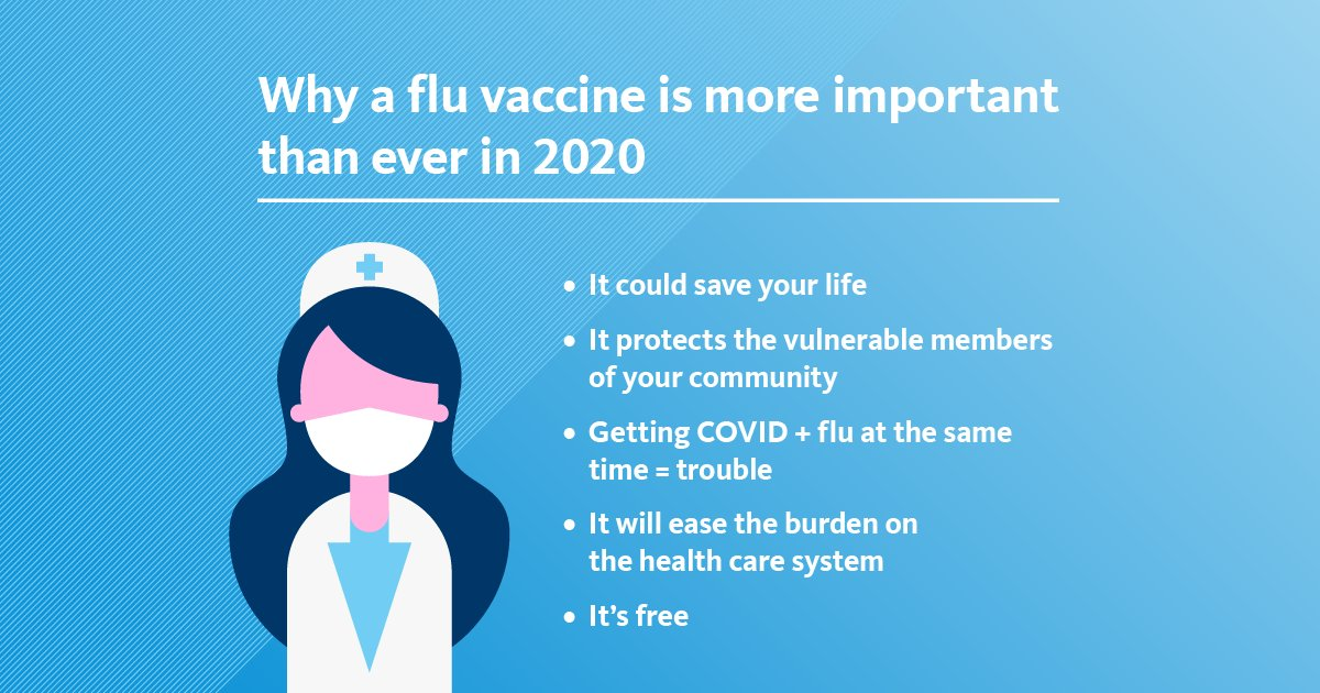 We're joining @uofcalifornia in doing our part to ease the burden on the #health #care system during the #pandemic. And that starts with getting a #flu #shot. Hear from UC experts about what's different about getting the flu #vaccine this year. https://t.co/tkAzKqO17C https://t.co/94FKxHaCw5