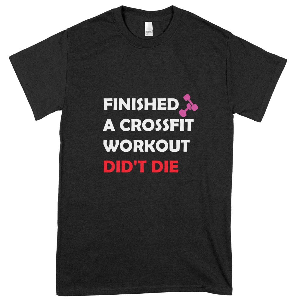 Finished Crossfit – Didn't Die Funny Fitness Tee Shirt https://t.co/nxzht6WTwa #fitness #CrossFit https://t.co/LuFmCjO8S6