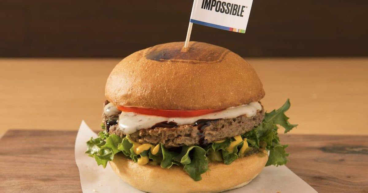 Being honest, I am a total #ImpossibleBurger addict. I've not eaten at a lot of Fast Food places over the years because I can't, there's NOTHING On the menu and those $1 salads don't count! This #meatless burger is around No More #blackbean junkie burgers https://t.co/29jyJf7bce https://t.co/RpJuMW8EIc