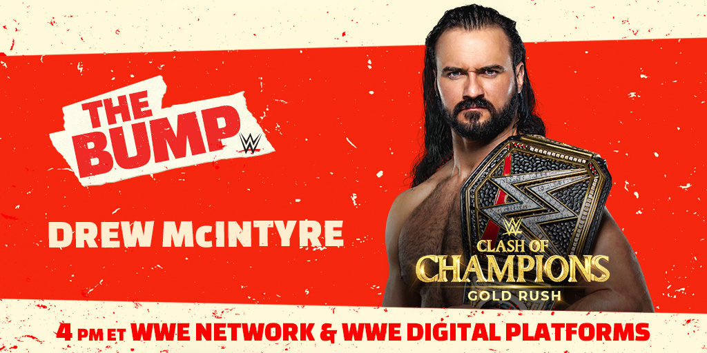 WWE Champion Drew McIntyre, Jimmy Uso, & More Announced For WWE's The Bump
