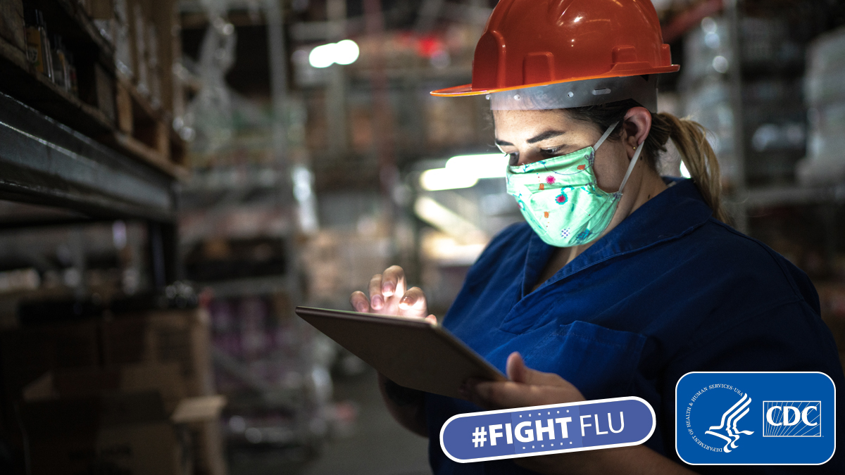 Essential workers may be at a higher risk of being exposed to #flu and #COVID19. Protect yourself and your community from flu by getting a #fluvaccine. The more people vaccinated; the more people protected. Learn more: https://t.co/8ZMxoIX74r https://t.co/n5e913jthE