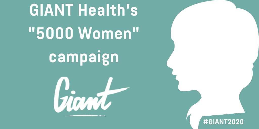 "The GIANT Health's ""5000 Women"" Campaign 2020 brings together #women from around the world with diverse backgrounds, in all disciplines of #healthcare and #HealthTech. It provides an opportunity to connect with talented women, who share the same passion. 👉https://t.co/gc2WiWx0Bb https://t.co/pavz40YtZh"