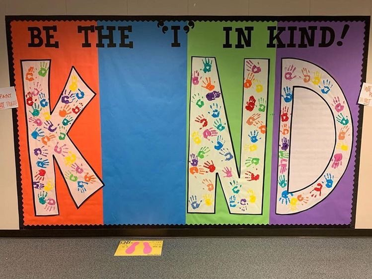 Love it! Be the 'I' in KIND! 🤩🙌🏼❤️