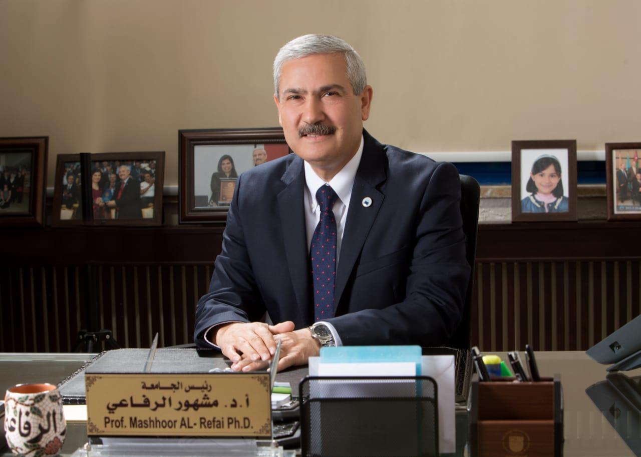 رئيس جامعة الأميرة سميّة: المسؤولية المجتمعية من أعظم رسائل الجامعات #بترا #الاردن