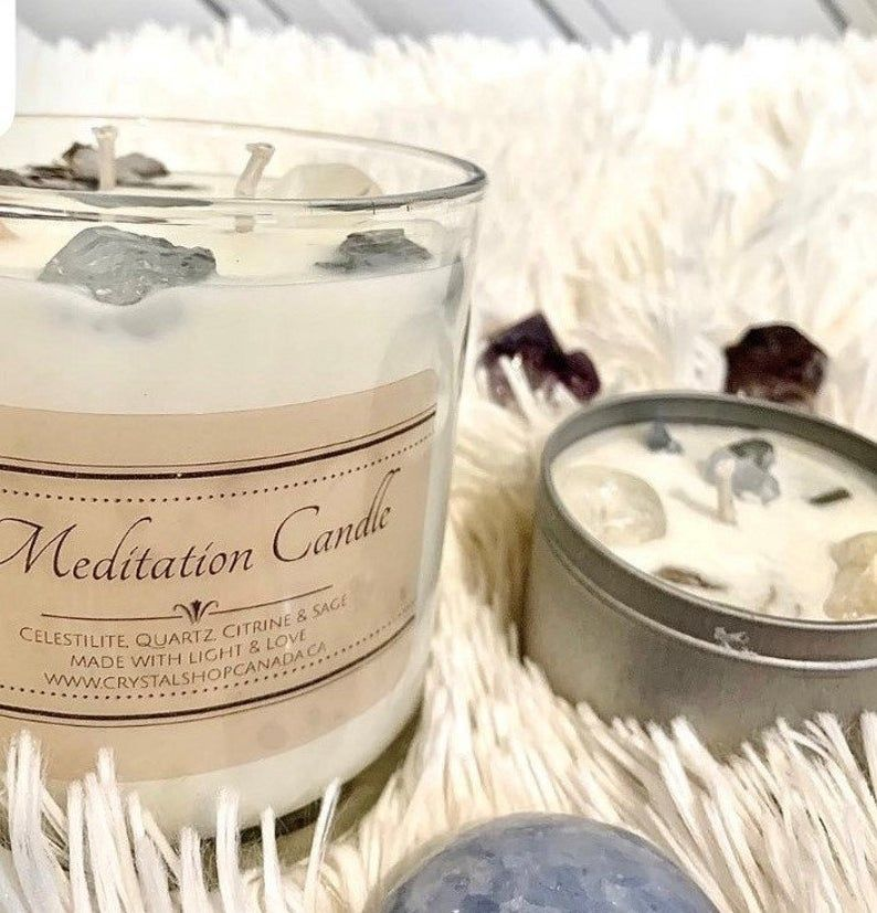 So many exciting new items in our organic bath & body shop! Stop by to check out these amazing crystal candles - Each candle contains gemstones and floral petals, made in Ontario, hand-poured with light and love! #organic #brockville #crueltyfree #shoplocal #canadian https://t.co/bV3WPEOeqW