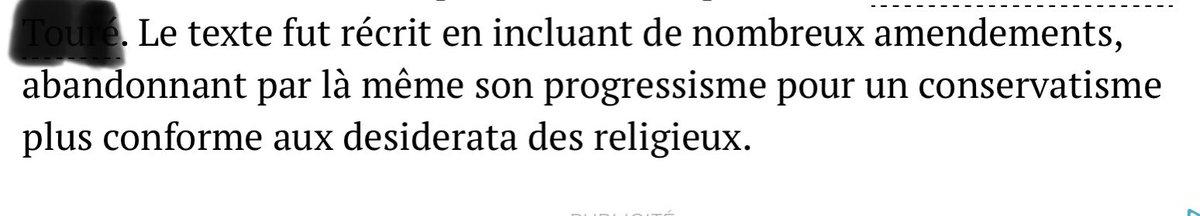@vieuxmko Vous avez connu le népotisme. Vous goûterez (cela a déjà commencé ) à l'intégrisme. Dans l'échelle du pire je sais ce qui l'est mais vous Malien-nes, le savez-vous? #Mali https://t.co/sgEwzW0qrk