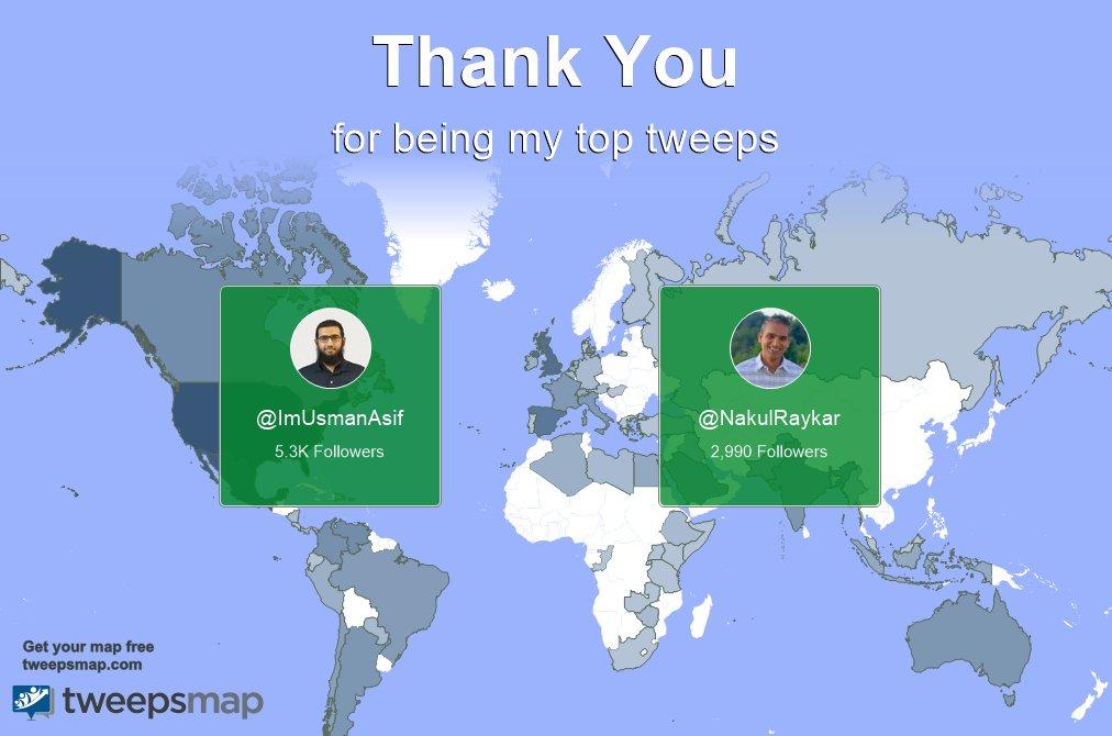 Special thanks to my top new tweeps this week @ImUsmanAsif, @NakulRaykar @francin32153547 @markllo96912750 @0a7wal0 @paperlab2020 @nakulraykar @drrosenibd https://t.co/OMGhtaKGJh