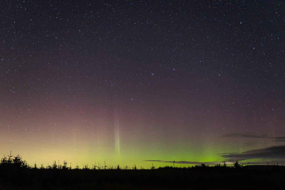 The Aurora from Kielder last night! 😍 https://t.co/Hoslkn3JEt