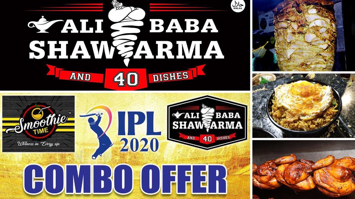 அலிபாபா ஷவர்மா மற்றும் 40 சைடு டிஷ் | IPL 2020 Combo Offer | Best Shawarma in Chennai | Saapattu Piriyan | Video Shop Video Link : https://t.co/1Q5VRWWEPo #iploffer #ipl2020 #combooffer #IPL #IPL2020 #foodie #shawarma #Chennai #CSK #ThalaDhoni https://t.co/qiTzLxjvVz
