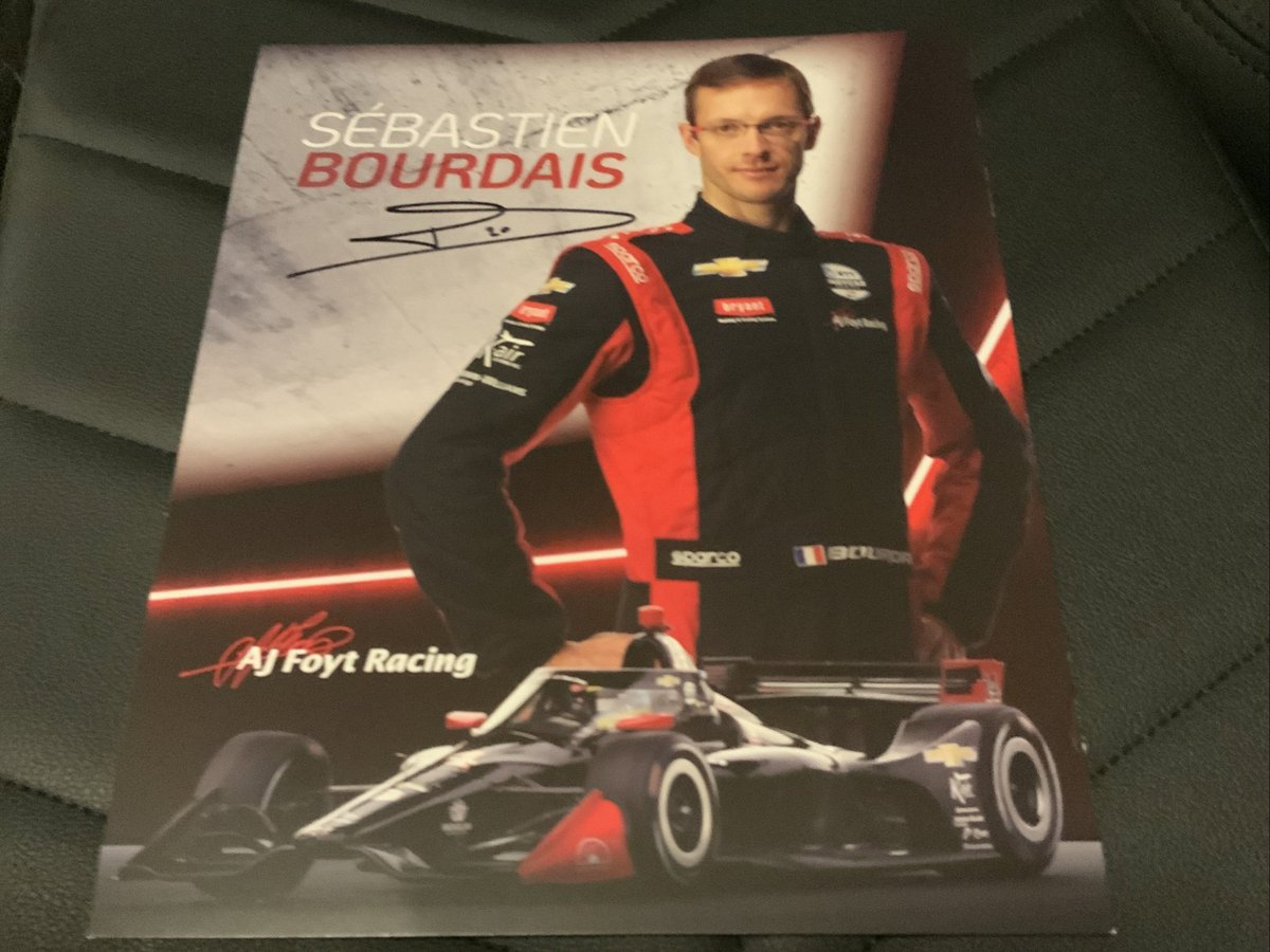 Soon as @BourdaisOnTrack hits 50K on twitter I'll giveaway a signed @AJFoytRacing hero car of his! I know he's less than 100 away . Please RT/Follow. https://t.co/vQ9YWXvsod
