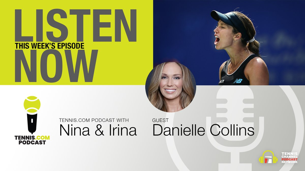She'll open against Monica Niculescu at #RolandGarros—find out more about the past, present and future of Danielle Collins on the latest episode.   LISTEN → https://t.co/e5k6AOJehN https://t.co/Nw5ggJWIxz
