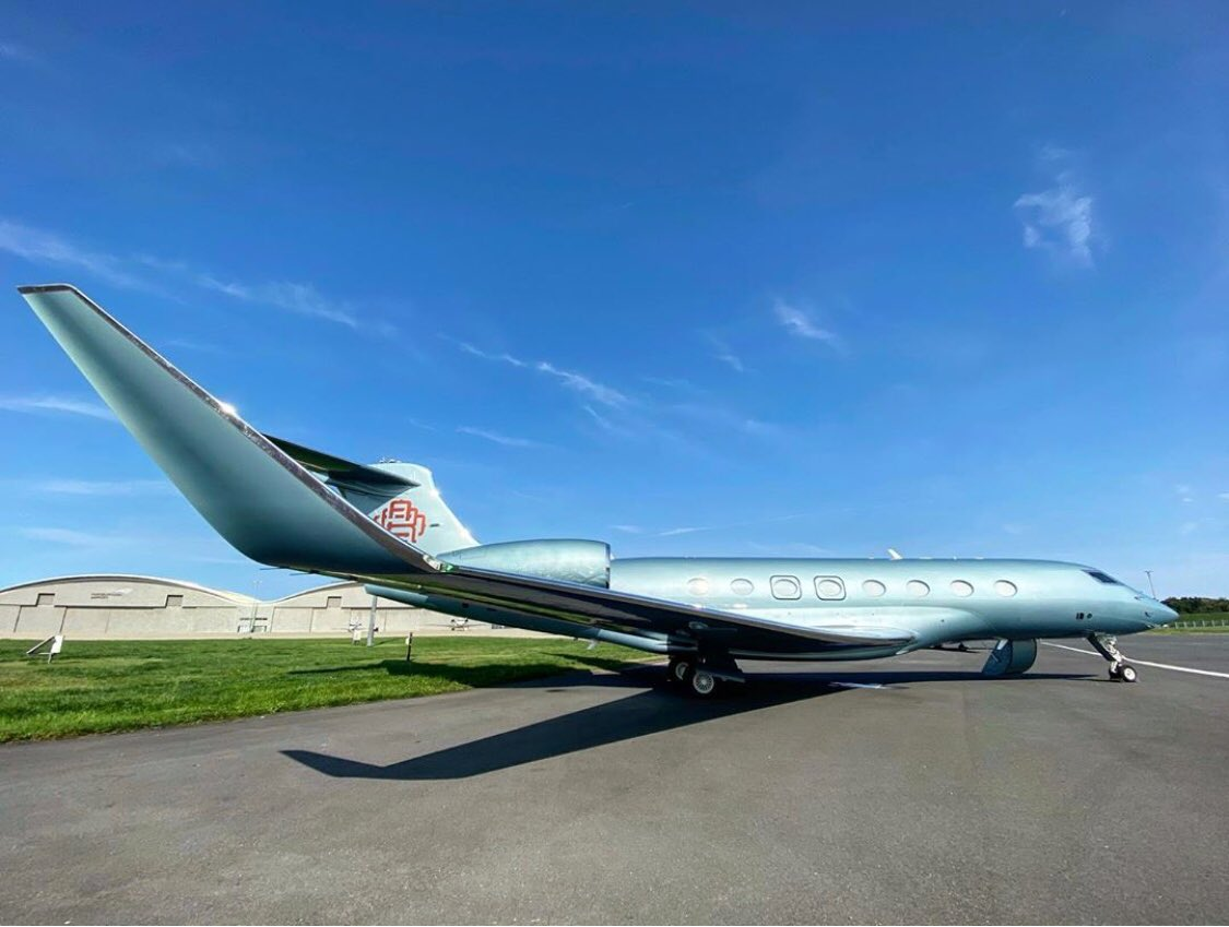 #BusinessJets @fernando6223 ® the art of perfection #Gulfstream #G650 . #instagramaviation #megaplane #BusinessAviation #FlyPrivate #PrivateJet  #CharterJet #BizJet #Flight #Luxury  #Travel #EmptyLeg #BusinessJet #CorporateJet #Aviation https://t.co/eBKPCRSLuQ