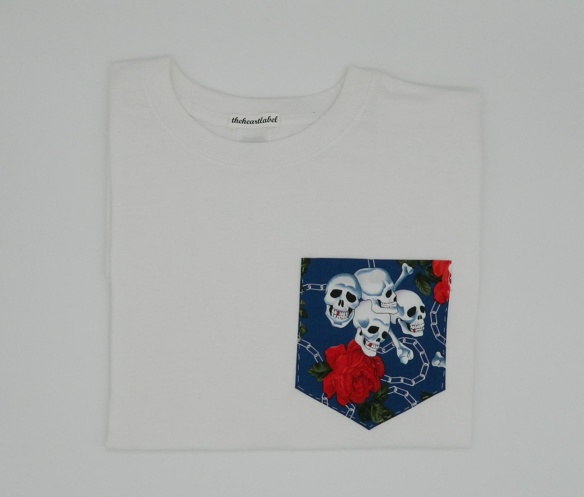 Excited to share the latest addition to my #etsy shop: Skulls and Roses Pattern Pocket Tee, White Pocket T-Shirt, Men's T- Shirt, Pocket tee, Unisex, Menswear, UK https://t.co/s8E63sF6XZ #streetwear #shortsleeve #crew #pockettee #pockettshirt #menswear #menstshirt #uk https://t.co/49LyFruYlo
