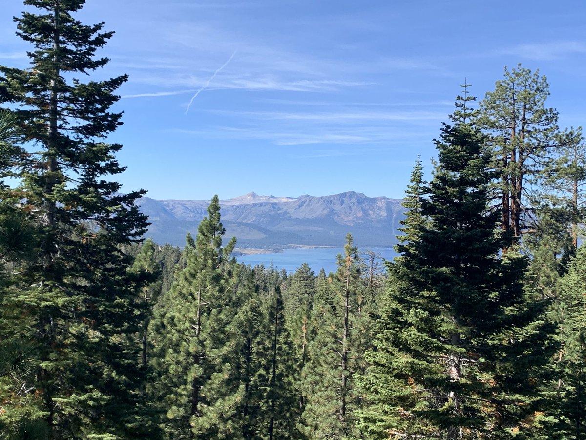 Show all the way off Mother Nature #hike #hiking #mothernature #laketahoe #zephyrcove #nevada #freshair #mountains #lake #adventure #travel #explore #getoutside https://t.co/TnsJ0QesBJ